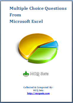 Download MS Excel MCQ Bank