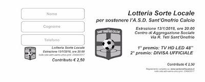 Lotteria ASD Sant'Onofrio Calcio