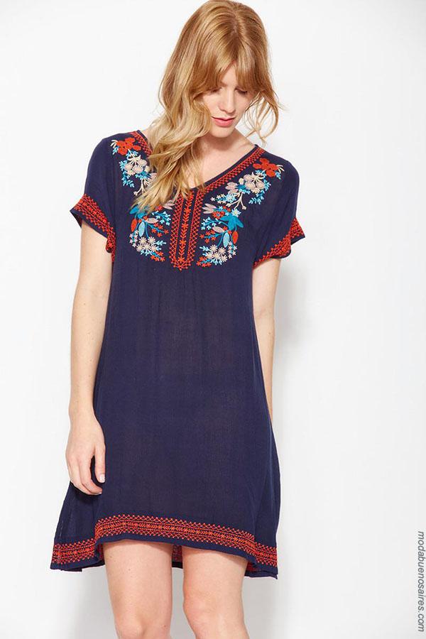 Ver Moda verano 2018. | Moda 2018 para mujer.| Vestidos 2018.