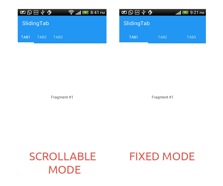 Sliding Tab Layout( Android Design Support Library) | AppRevelations