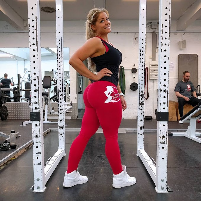 Mia Sand Biografia de una mama Fitness