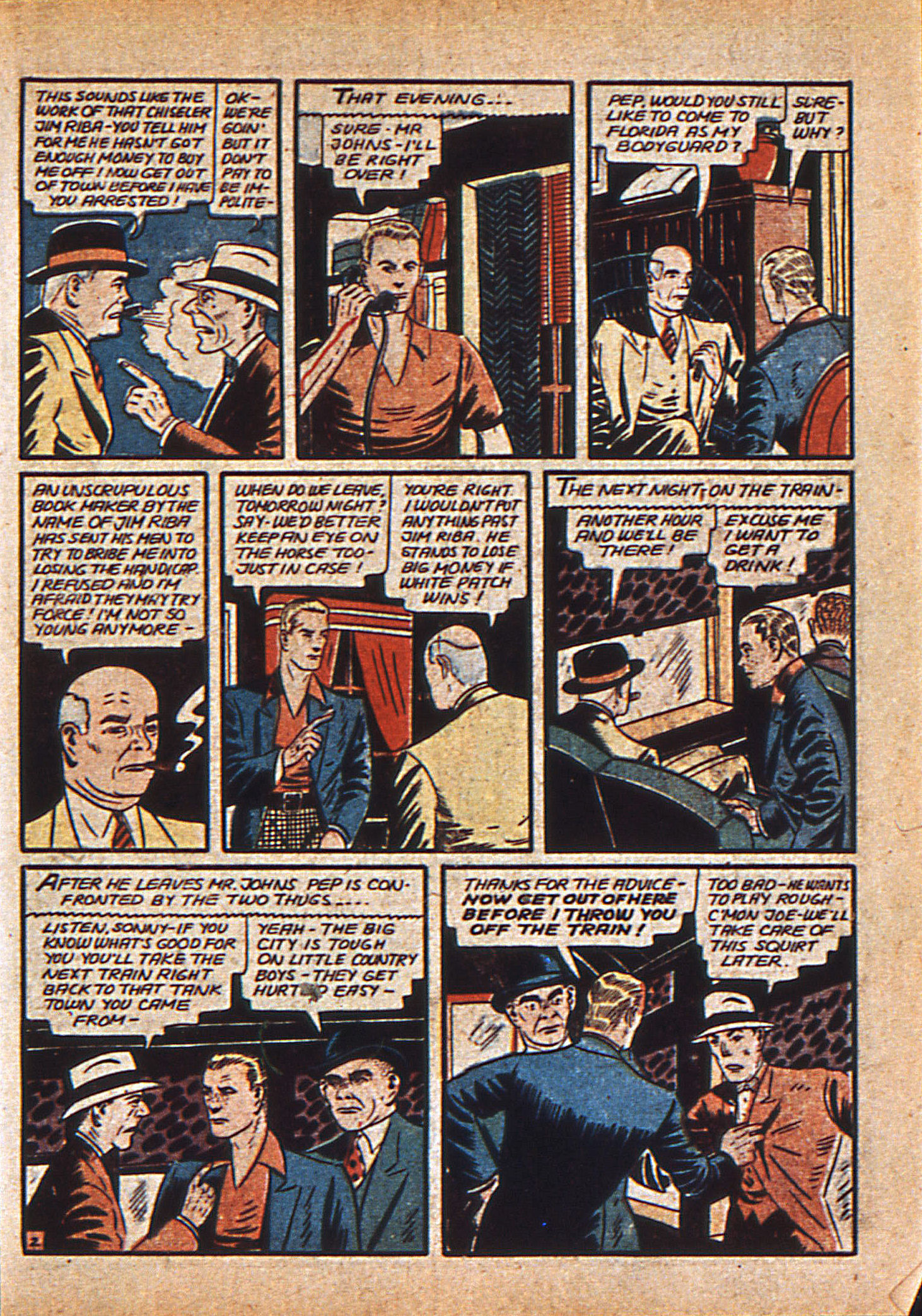 Read online Action Comics (1938) comic -  Issue #21 - 20