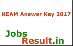 KEAM Answer Key 2017