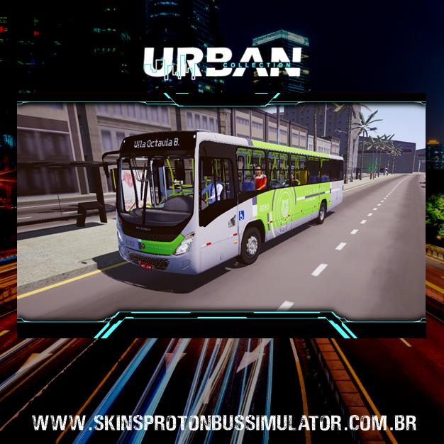 Skin Proton Bus Simulator - Torino 14 MB OF-1721 BT5 Viação Garcia