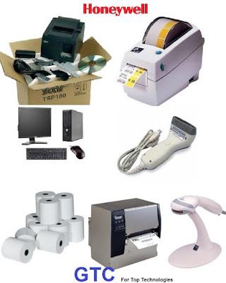 أجهزة قرأة الباركود وطابعات الباركود من شركة جى تى سى - للأنظمة الحمايه والمراقبه - بالمعادى