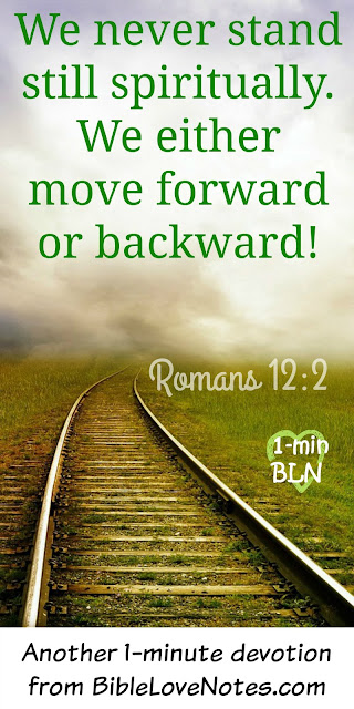 Spiritual Atrophy - Without God's Word, we go backward spiritually