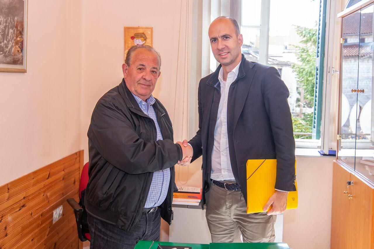 Ιωάννινα:Συνάντηση του Νικόλα Κάτσιου με τον Διευθυντή της 7ης Περιφέρειας του ΕΚΑΒ