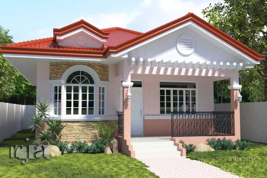 20 small beautiful bungalow house design ideas ideal for for Pretty small houses