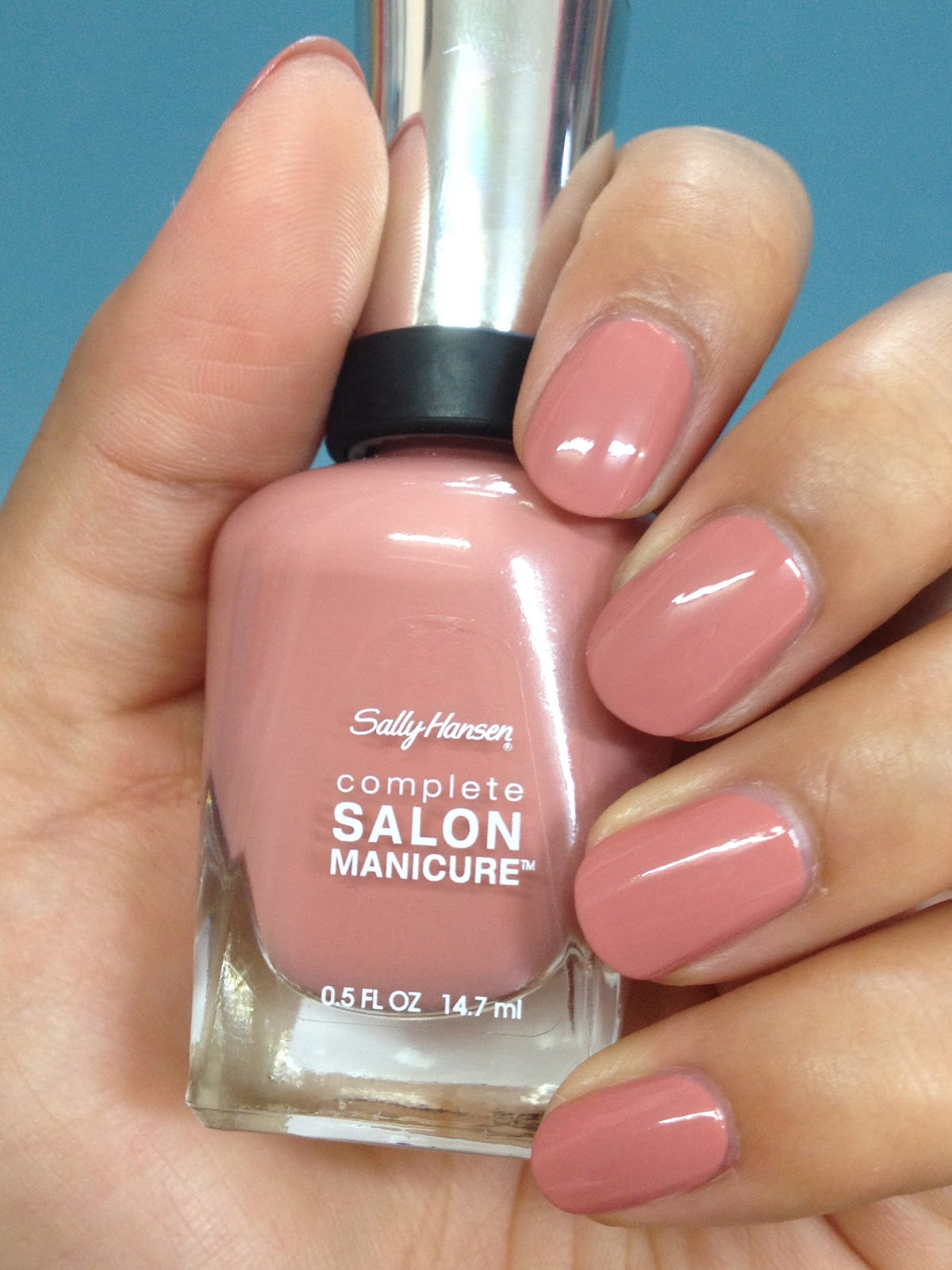 The Bridal Hairstylist Sally Hanson Complete Salon Manicure Nail Polish Swatches