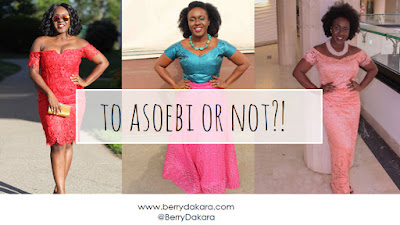 Berry Dakara is back with a brand new vlog, this time, about aso ebi.