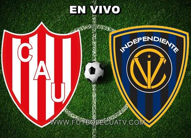 Unión se mide ante Independiente del Valle en vivo ⚽ desde las 19h30 horario determinado por la conmebol a realizarse en el campo 15 de abril por la fase 1 ida de la Copa Sudamericana, siendo el juez principal Gustavo Murillo de nacionalidad colombiana con transmisión de canal autorizado DIRECTV Sports.