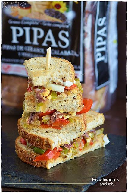 Escalivada´s sandwich
