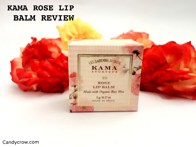 Kama Ayurveda Rose Lip Balm Review