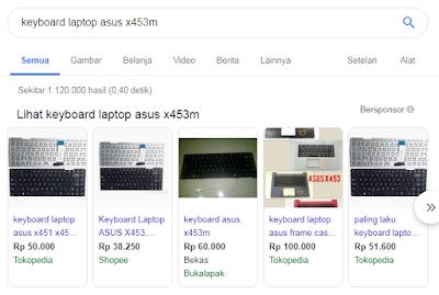 Biaya Ganti Keyboard Laptop Harga Terbaru
