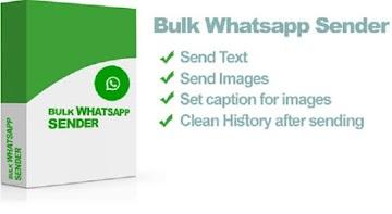 Whatsapp Bulk Sender Software