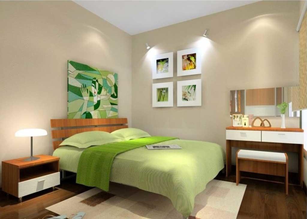 60 Desain Kamar Tidur Warna Hijau Minimalis Modern Simpel dan