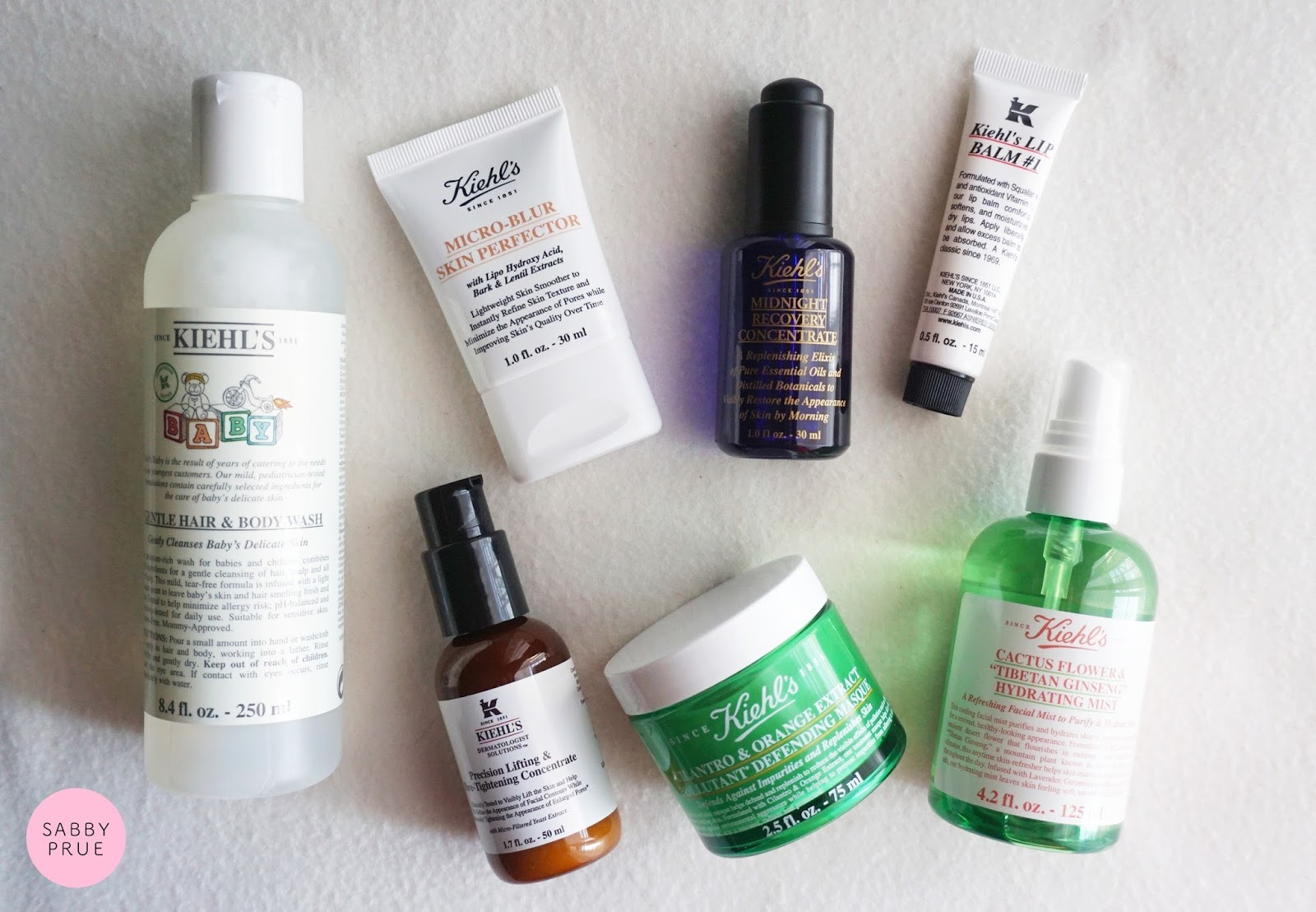 Unboxing Kiehls Haul Sabby Prue Malaysian Beauty Baby Lip Balm Excited To Try These Out