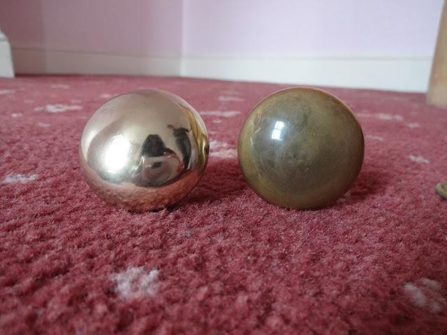 brass knob restoration