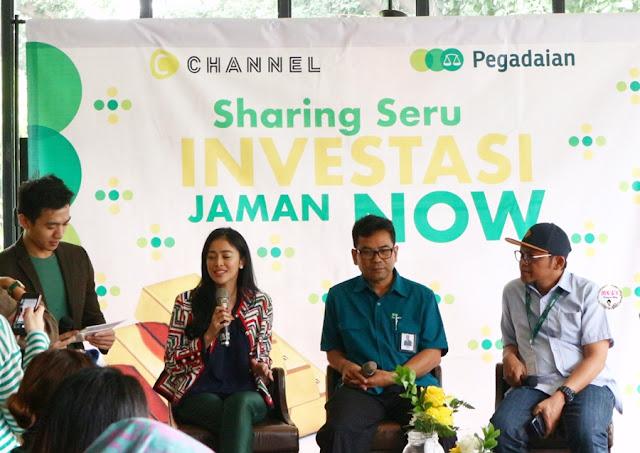 Sharing Seru Investasi Jaman Now PegadaianXCChannel