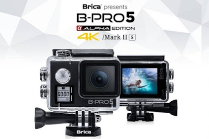 Dapat Action cam B-Pro5 Alpha Edition Mark II S