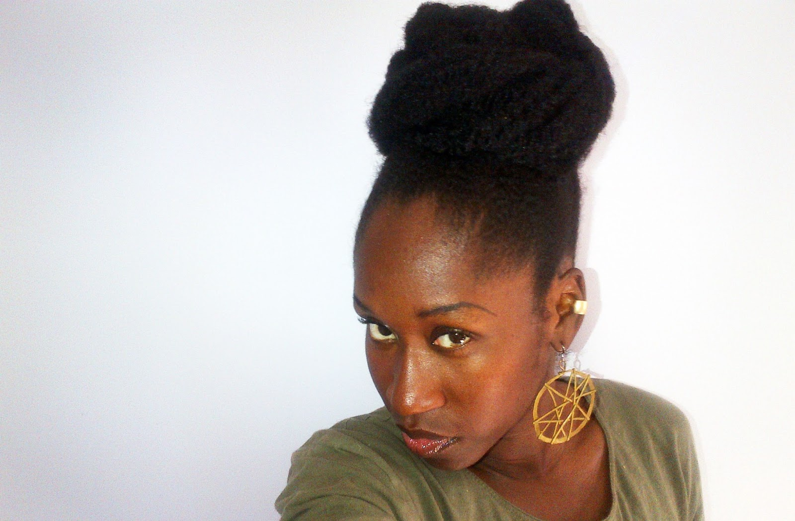 Protective Style Of The Week Marley Bun PICS