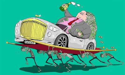 Ilustración ricos
