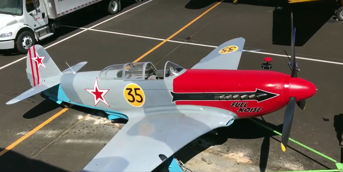 NZ Civil Aircraft: Yak 3 ZK-VVS at Reno Air Races