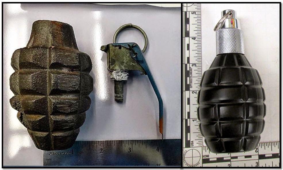 Inert Grenade (GJT), Grenade-shaped Cologne (MSN)