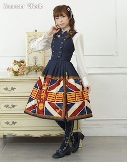 Innocent World Union Flag Soldier Jumper Skirt