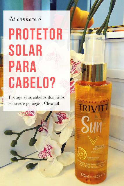 Trivitt Sun Protetor solar capilar