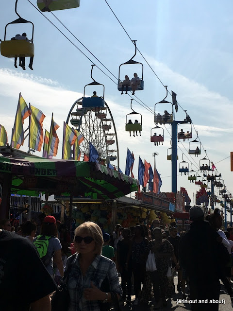 {Erin Out and About} CNE food