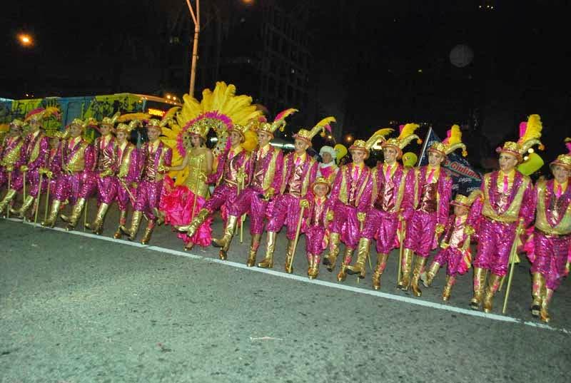 Desfile Inaugural del Carnaval. 2015. Zíngaros.