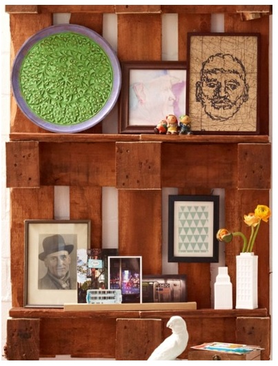 cómo hacer un mueble con desperdicios de madera, cómo hacer un estante para la sala