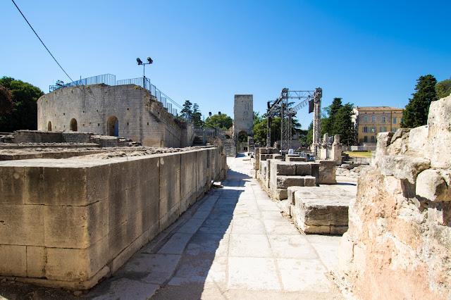 Teatro antico, Arles