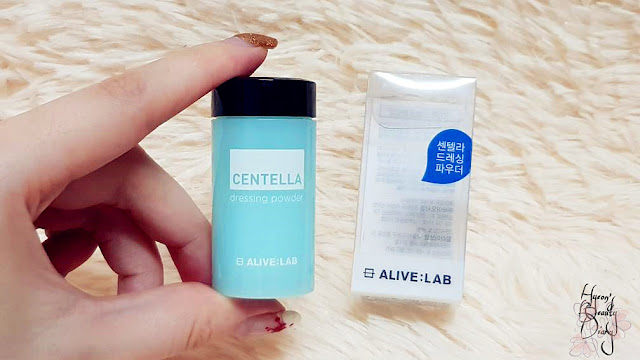 Review; ALIVE:LAB's Centella Dressing Powder