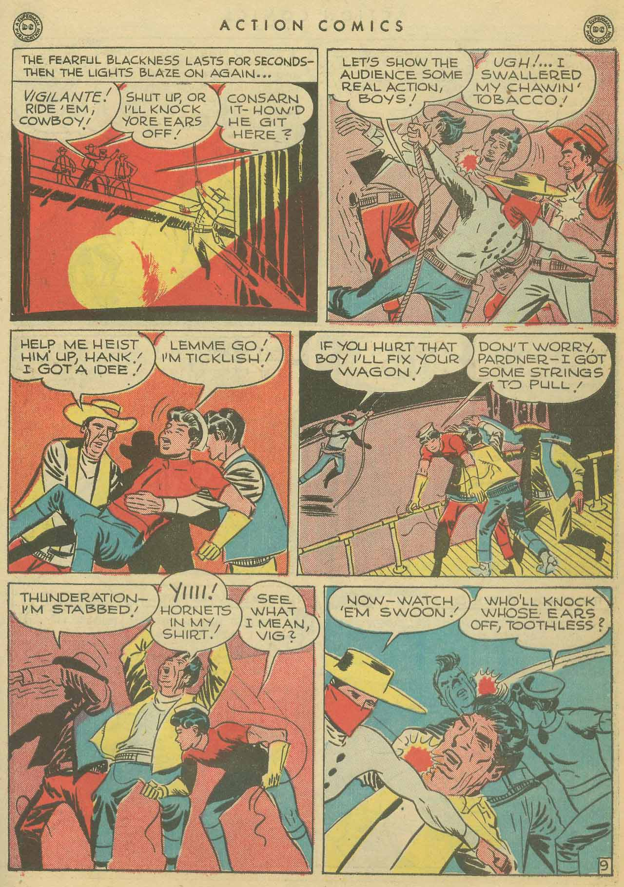 Read online Action Comics (1938) comic -  Issue #102 - 38
