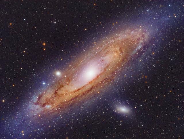 Seberapa Besar Galaksi Andromeda