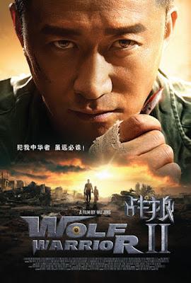 Wolf Warrior II Poster