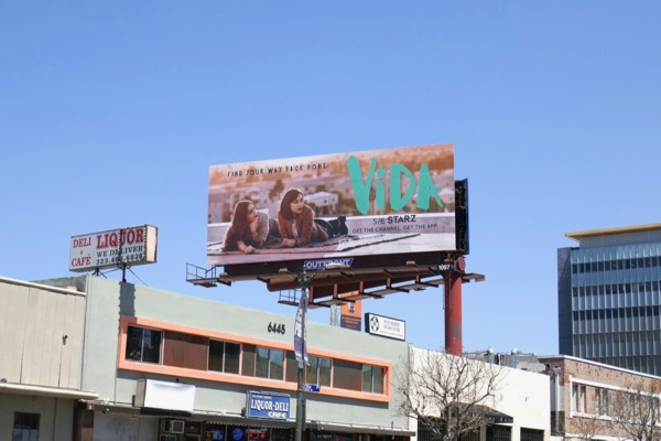 Vida tv series billboard