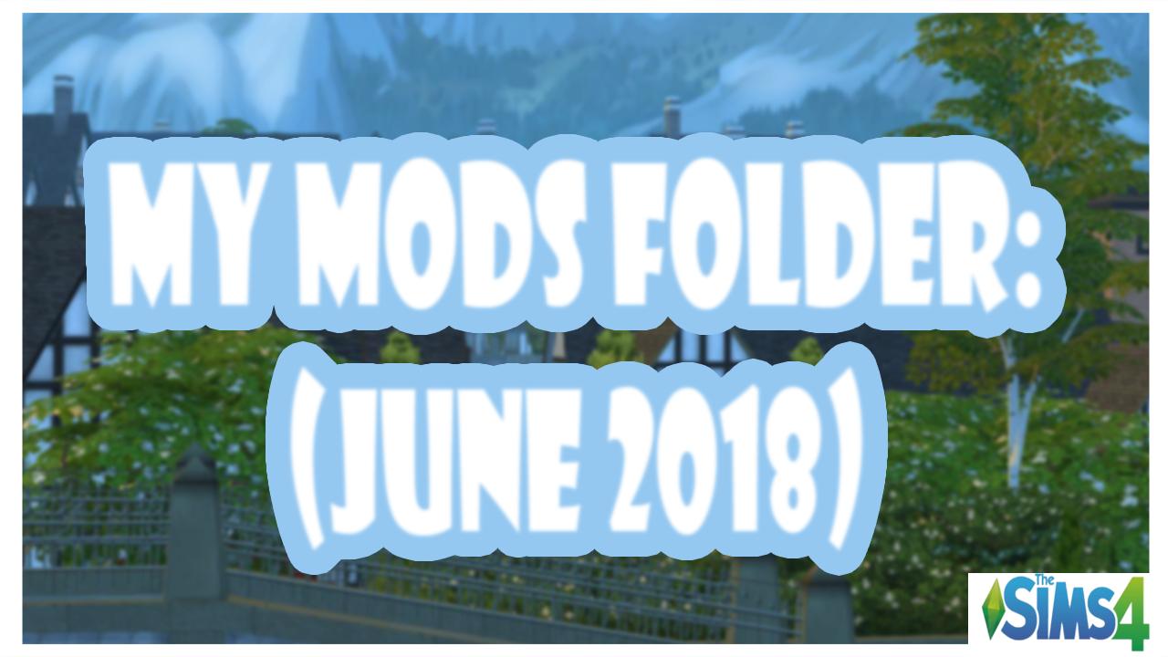Sims 4 mods folder download 2018