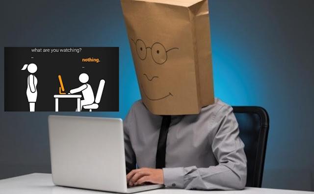 laptop, bolsa, papel, internet,
