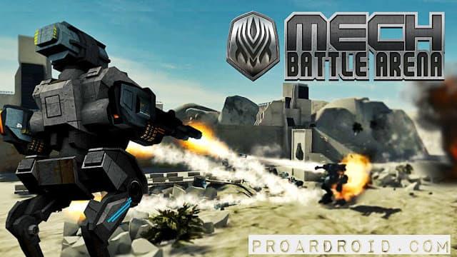 لعبة Mech Battle v1.0.3 Apk كاملة للأندرويد (اخر اصدار) logo
