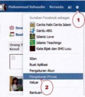 cara menyembunyikan kronologi di wall facebook 1