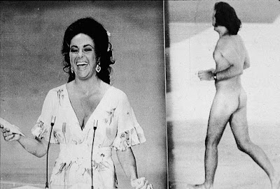 Robert Opel desnudo en los Óscar de 1974