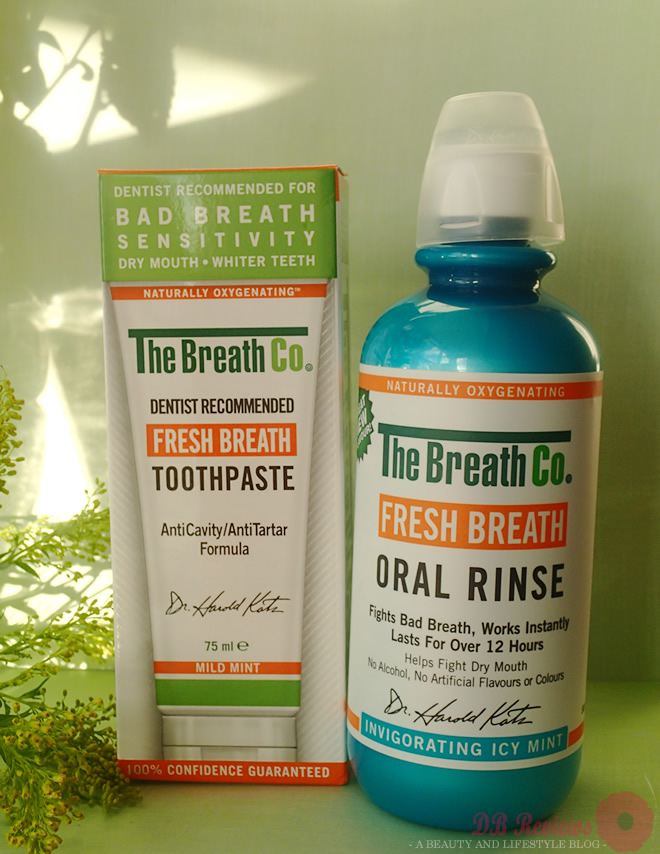 The Breath Co : Fresh Breath Toothpaste and Oral Rinse