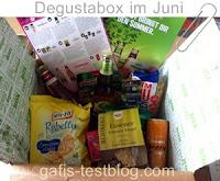 die Degustabox vom Juni 2015