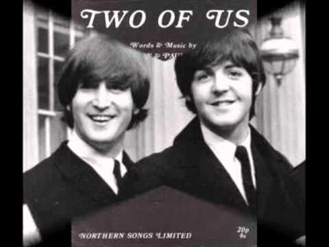 The Beatles Two Of Us Guitar Chords Kunci Gitar