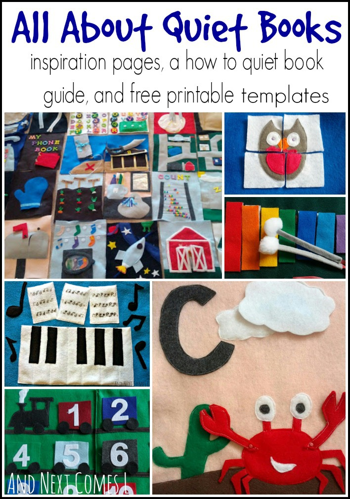 image about Printable Quiet Book Templates named Calm Guides And Following Arrives L