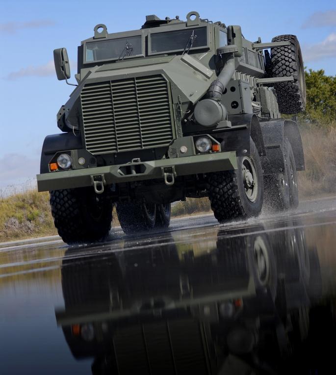 Mine Protected Vehicle India Mpv I By Mahindra Bharat