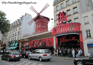 Moulin Rouge. Montmartre. Paris